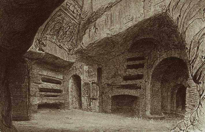 St. Cecilia Catacomb Catholics